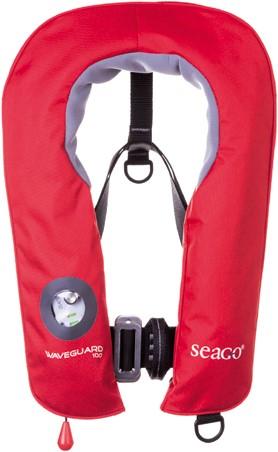 Seago Waveguard Junior Reddingsvest - 150N - 20/50 kg - rood