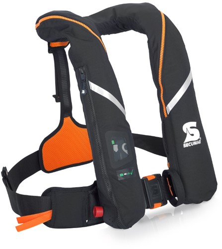 Secumar Survival Reddingsvest - 275N - zwart/oranje