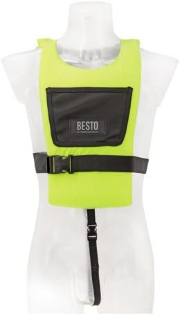 Besto paddler 50N Yellow child