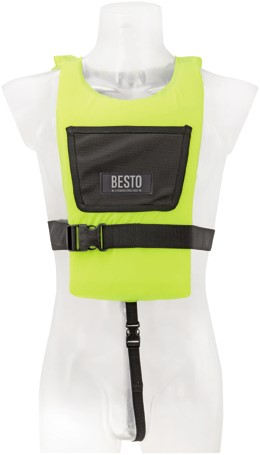 Besto paddler 50N Yellow adult