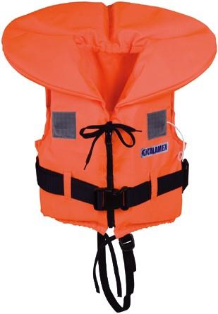 Talamex Reddingsvest - oranje - 70+++ kg - kruisband