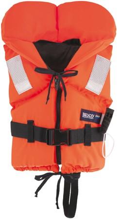 Besto Racingbelt 60N vastestof reddingsvest - oranje - 30/40 kg - kruisband