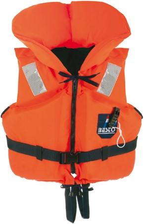 Besto Racingbelt Special vaststof reddingsvest - oranje - 0/15kg - kruisband