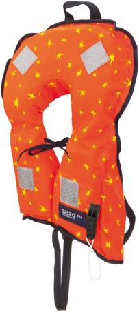 Besto Bebe reddingsvest - oranje - 0/10 kg - kruisband
