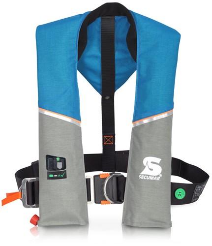 Secumar Ultra Reddingsvest - 170N - blauw/grijs - harnas